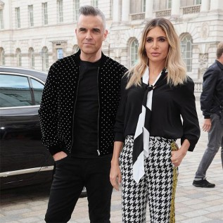 Robbie Williams and Ayda Field's marital jokes at auditions