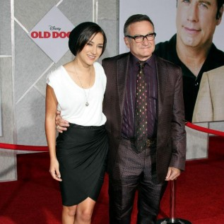 Robin Williams' daughter likes to reflect in peace