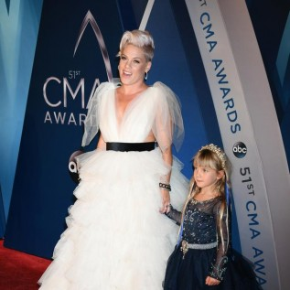 Pink: Touring with kids has been hard