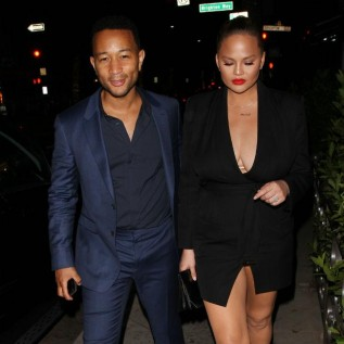 Chrissy Teigen 'projectile puked' at daughter's school