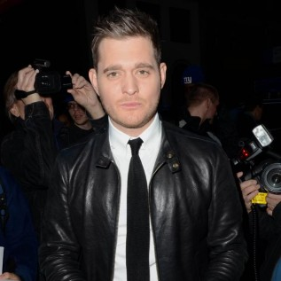 Michael Buble has no fear