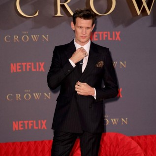 Matt Smith gives advice to The Crown successor