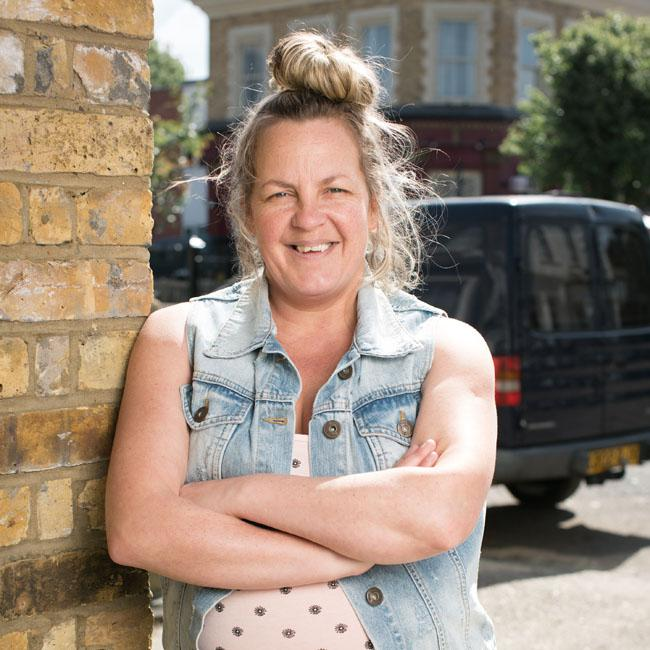 EastEnders' Lorraine Stanley hints at Karen and Phil romance