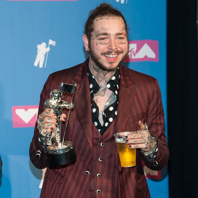 Post Malone caught in plane emergency after landing gear blew out