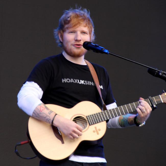 Ed Sheeran seeks advice from Sean Paul