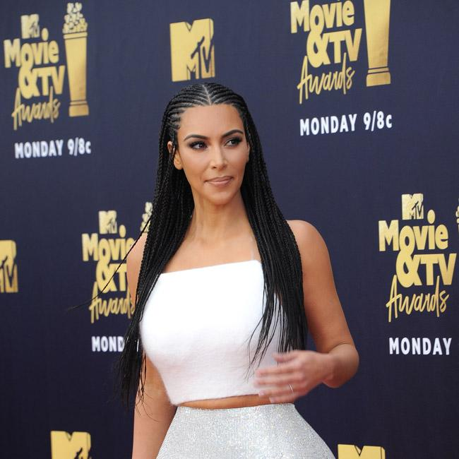 Kim Kardashian West Gets Extensions Put Back In After Hair Hate