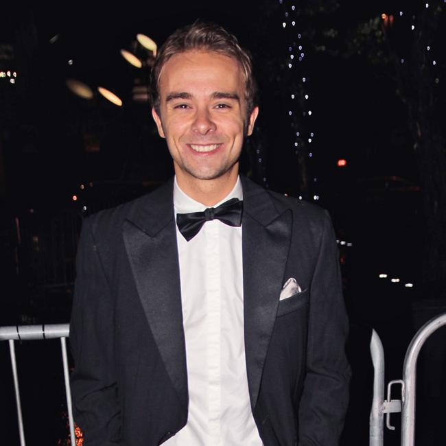 Jack P Shepherd launching party planning business