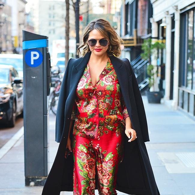 Chrissy Teigen doesn't care about wearing swimsuits anymore
