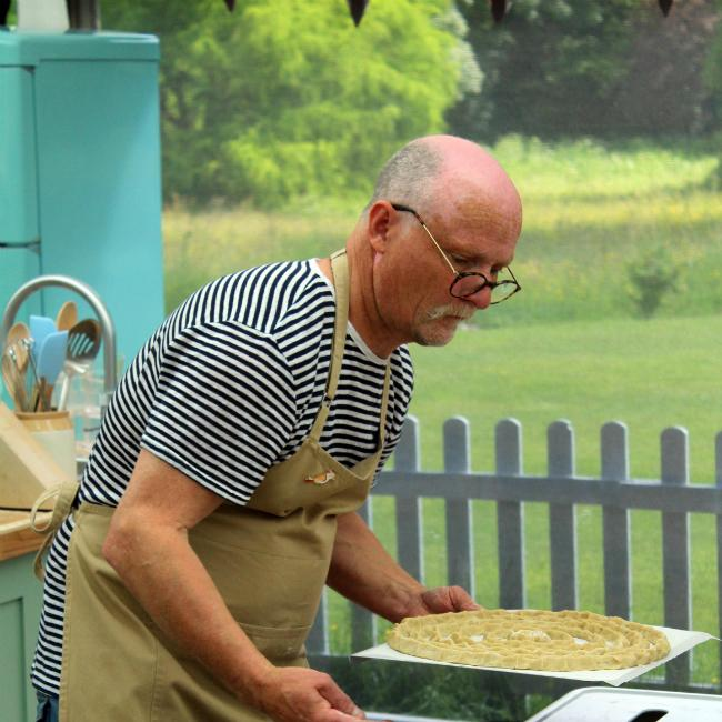 Terry Hartill and Karen Wright eliminated from The Great British Bake Off