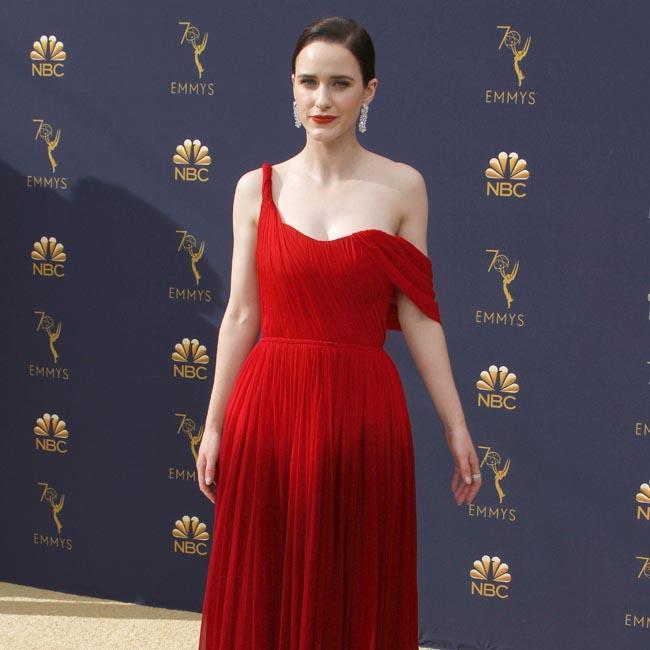 Rachel Brosnahan gets political with Emmy speech