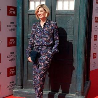 Jodie Whittaker saving Doctor Who binge