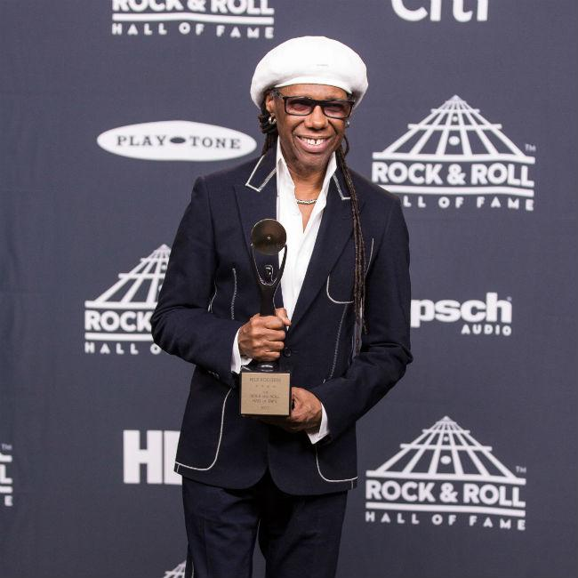 Nile Rodgers thanks stars who've impacted his life on new Chic LP