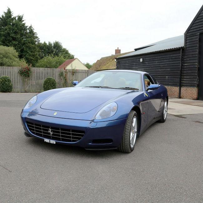 Eric Clapton's sports car to go on sale