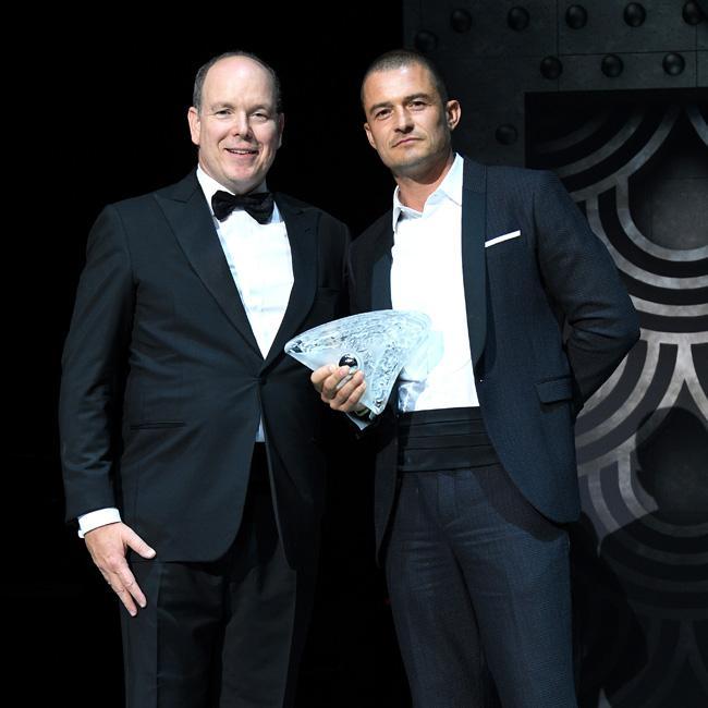 Orlando Bloom honoured at gala