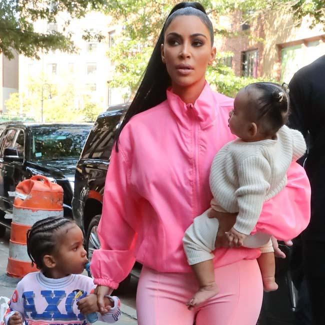 Kim Kardashian West slams 'mom shammers'