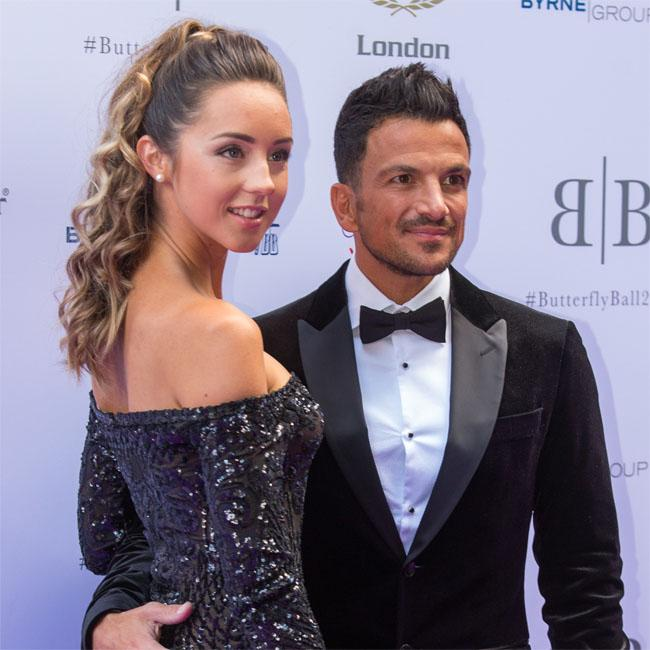 Peter Andre 'lucky' to be with his wife