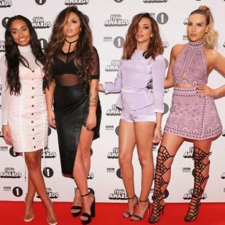 Little Mix enjoy success at the BBC Radio 1 Teen Awards
