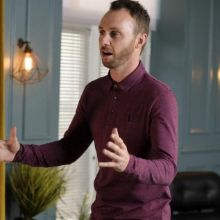Hollyoaks' Gregory Finnegan has high hopes for dad James