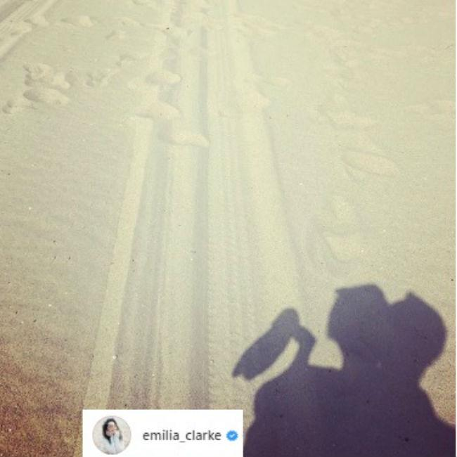 Emilia Clarke's new romance