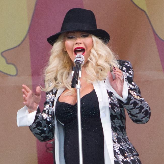 Christina Aguilera's son's Fortnite obsession