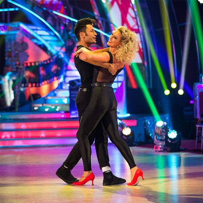Faye Tozer tops leaderboard on Strictly Come Dancing
