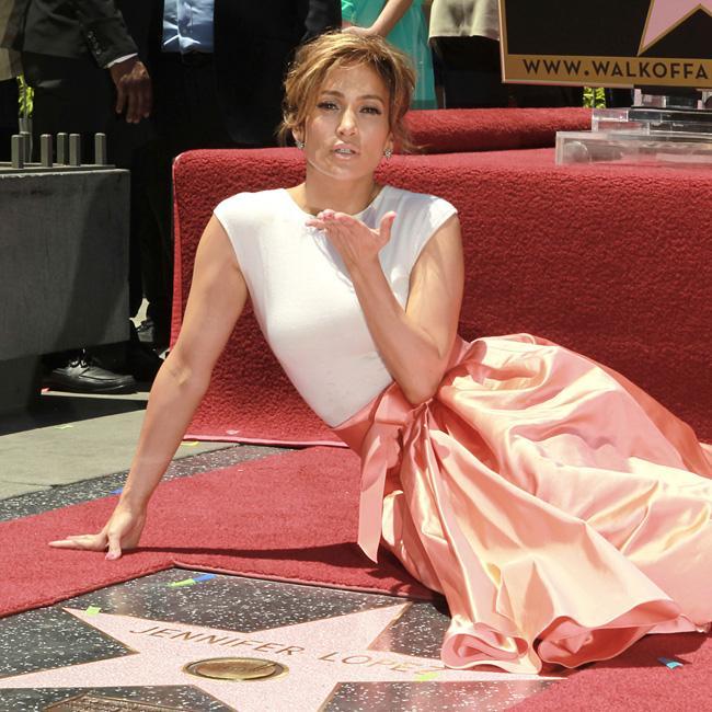 Jennifer Lopez's Walk of Fame star is vandalised