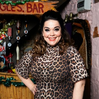 Lisa Riley reunites with Dominic Brunt and Mark Charnock on Emmerdale