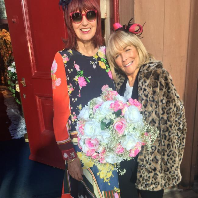 Janet Street-Porter's windy Hollyoaks cameo