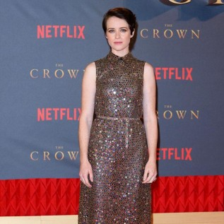 Claire Foy hasn't offered advice to Olivia Colman about The Crown