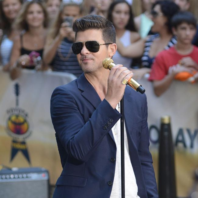 Robin Thicke: There's nothing left of my home