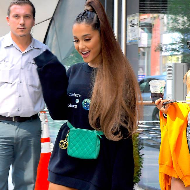 Ariana Grande thinks she jinxed herself