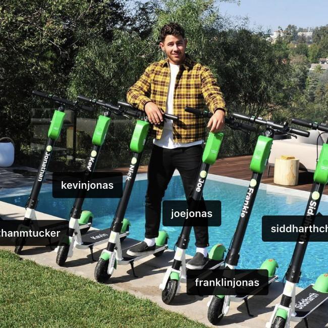 Nick Jonas' groomsmen gift