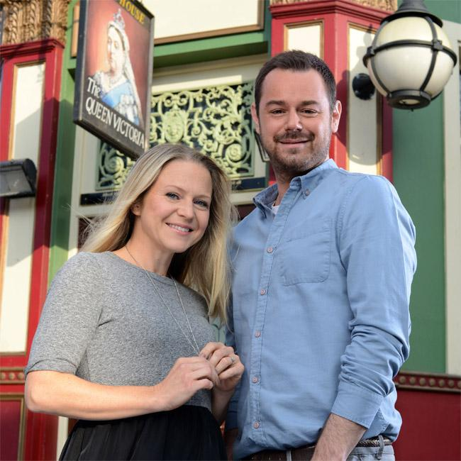 EastEnders stars plan award scene