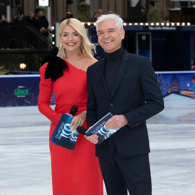 Holly Willoughby wants Dancing On Ice romances