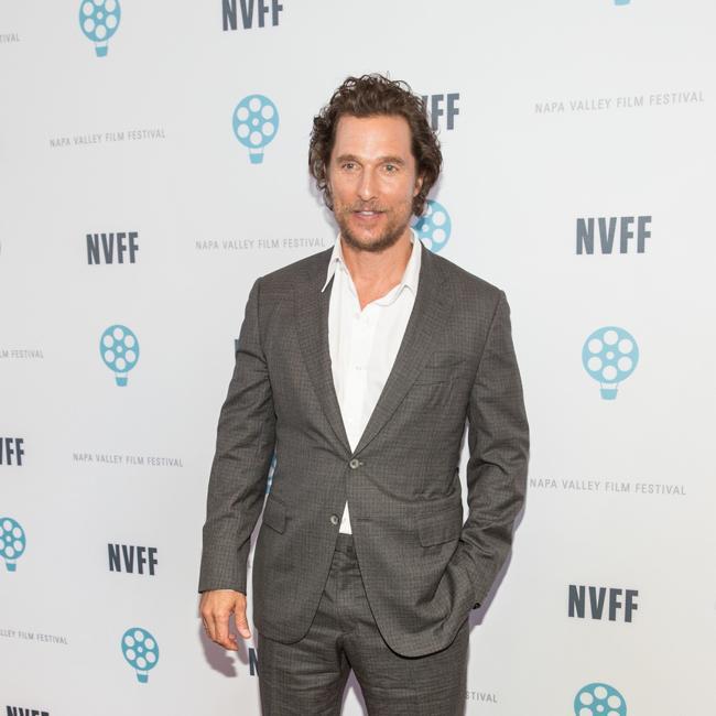 Matthew McConaughey's mom still has movie dream