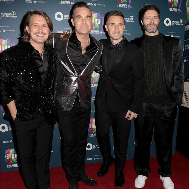 Robbie says he'll 'ride again' with Take That
