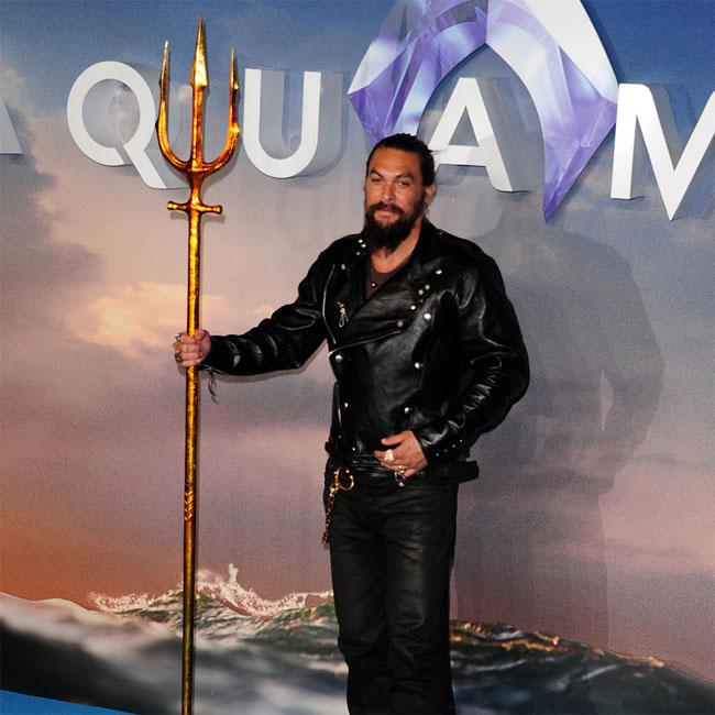 Jason Momoa hasn't seen Aquaman
