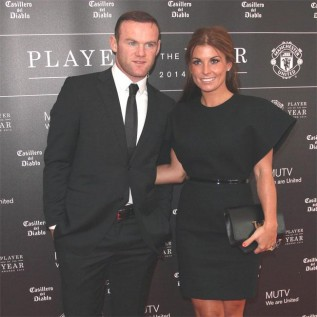 Wayne and Coleen Rooney were Donald Trump's guests at Christmas party