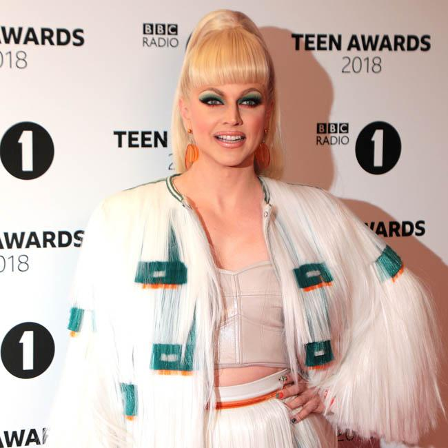 Courtney Act says it was 'poetic' her skirt fell off in front of Anne Widdecombe