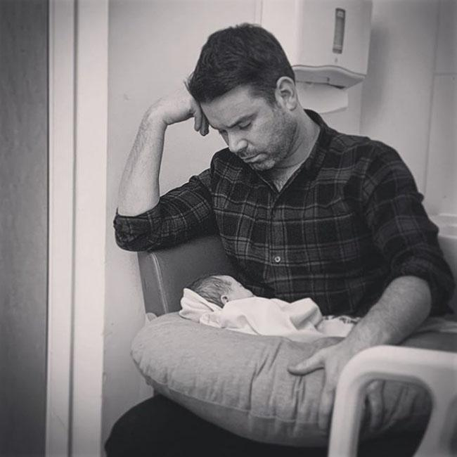 Dave Berry is a dad