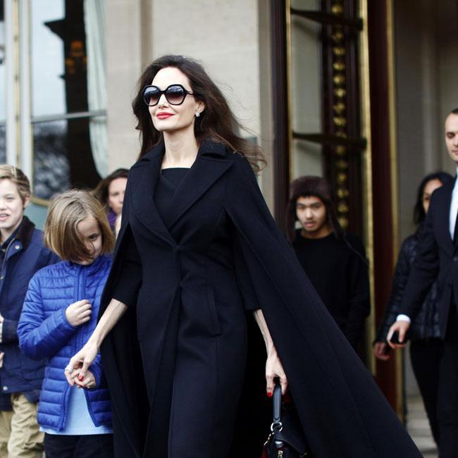 Angelina Jolie's social media fears for children