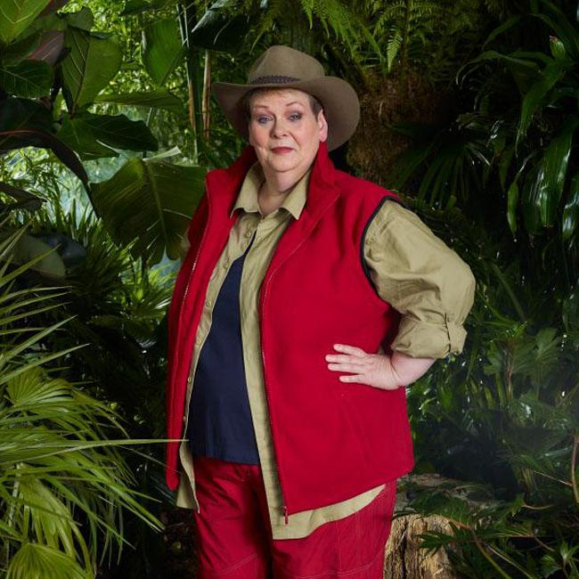 Anne Hegerty says jungle diet went straight through her