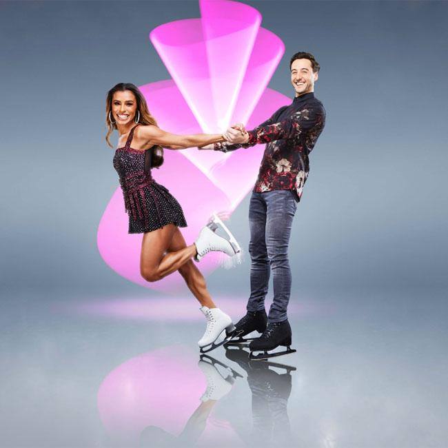 Melody Thornton can handle Jason Gardiner on Dancing On Ice