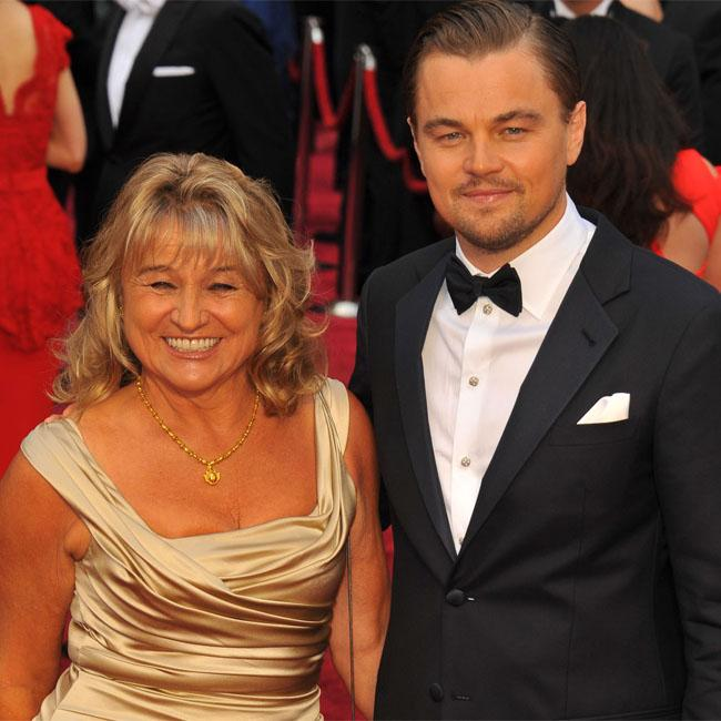 Leonardo DiCaprio's mother soaks fans