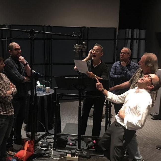 Tom Hanks records final scenes as Toy Story character Woody