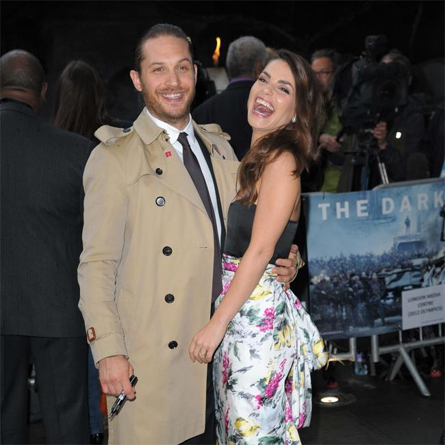Tom Hardy welcomes third child?