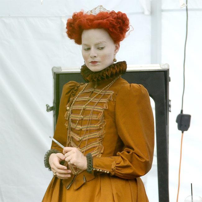 Saoirse Ronan shocked by Margot Robbie's Queen of Scots transformation