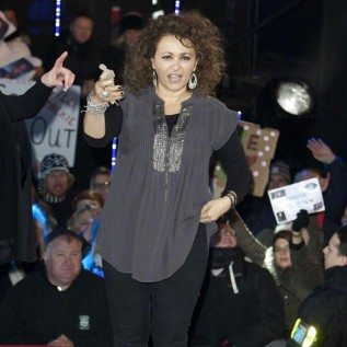 Nadia Sawalha lost half her Dancing On Ice fee rather than skate again