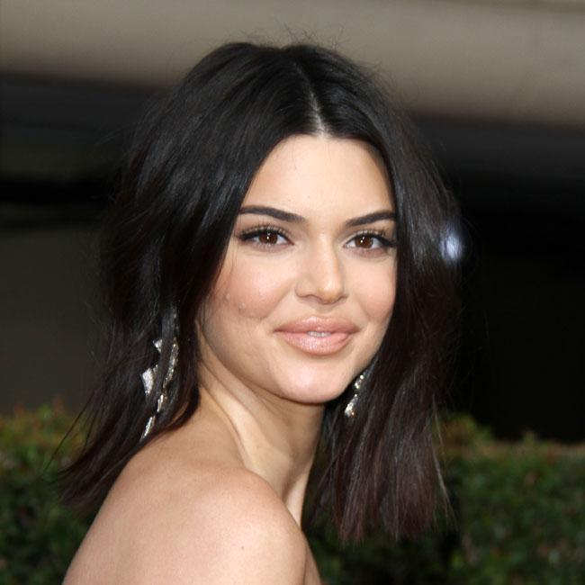 Kendall Jenner relieves acne agony