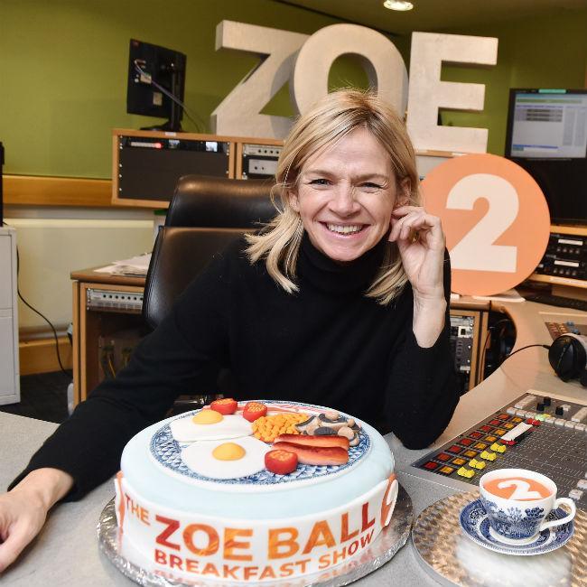Zoe Ball's show debut